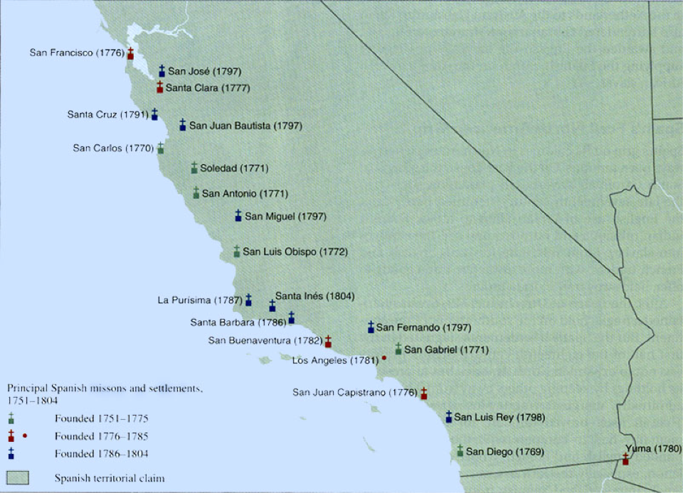 "missions in california In ""a cross of thorns: the enslavement of california's indians by the spanish missions,"" published last year, castillo draws on seven years of."